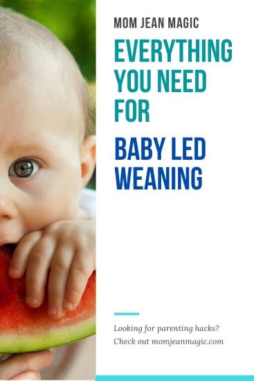 everything you need for baby led weaning