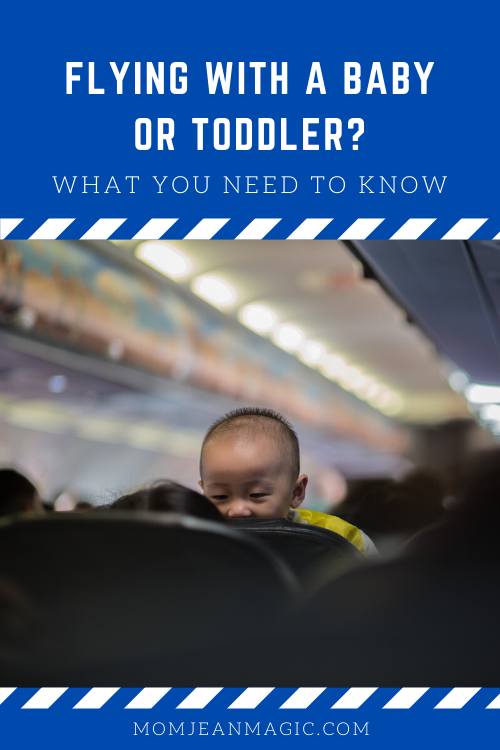 how to fly with a baby or toddler