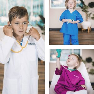 doctor toys for kids scrubs and coat