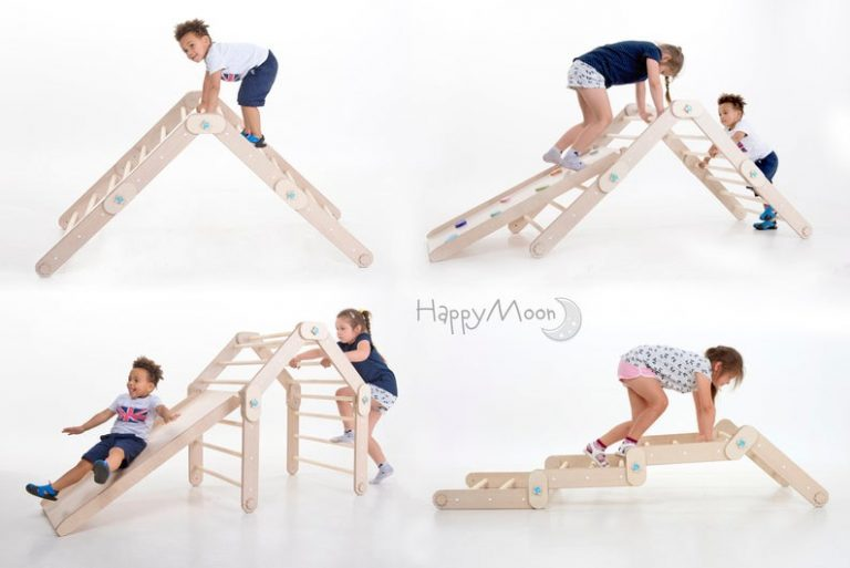 toddler climbing toy pickler triangle