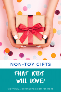 non toy gifts for kids